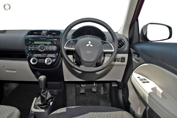 2012 Mitsubishi Mirage ES LA Manual MY14