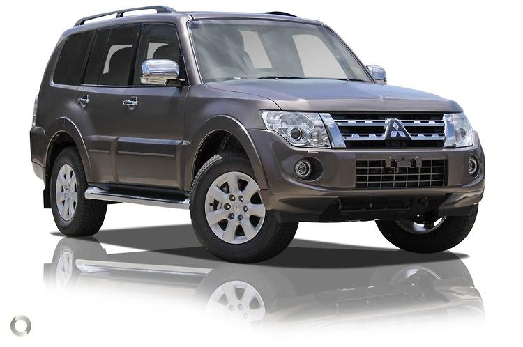 2012 Mitsubishi Pajero NW Platinum MY12