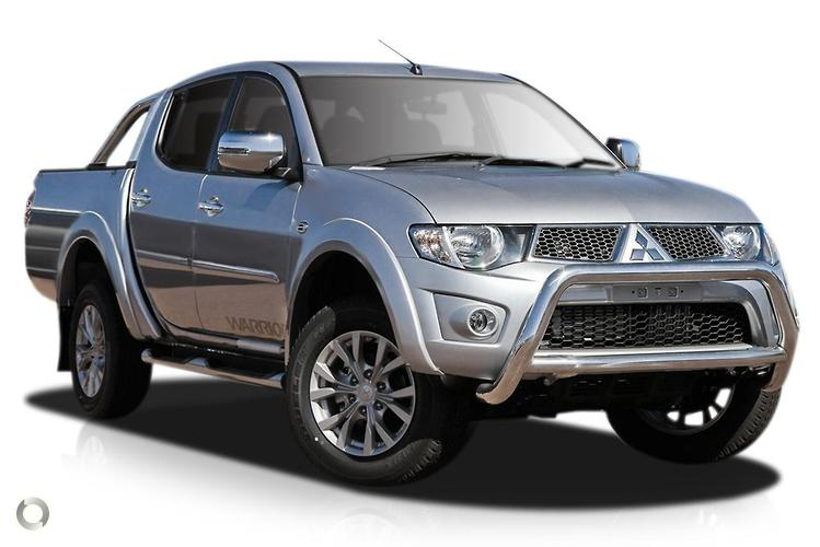 2014 Mitsubishi Triton MN GLX-R Warrior MY15 Sports Automatic