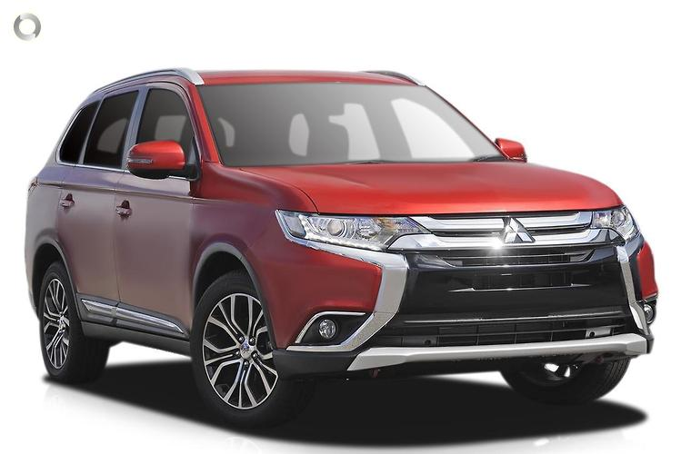 2017 Mitsubishi Outlander ZK LS Safety Pack MY17 Constantly Variable Transmission 4WD