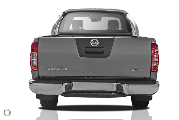 2014 Nissan Navara ST-X D40 Series 8 Manual 4x4