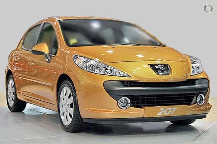 2008 Peugeot 207 A7 XT HDi (Mar. 2007)