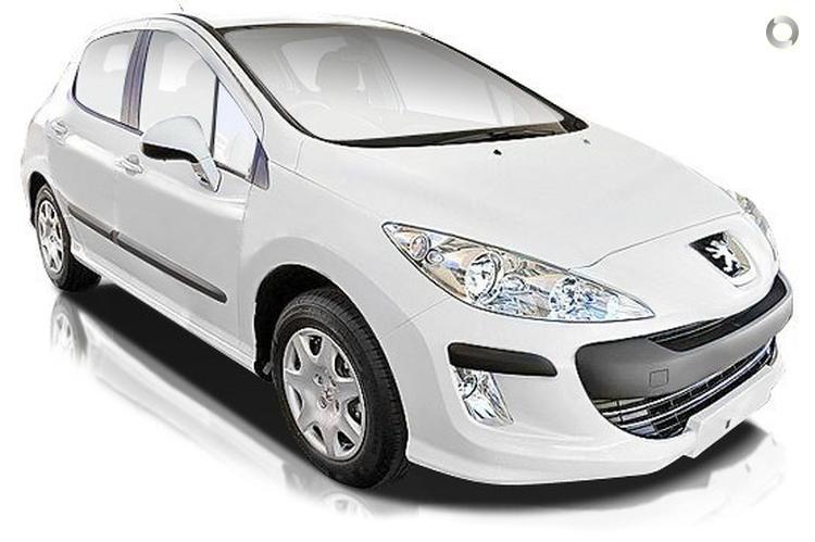 2010 Peugeot 308 T7 XS (Feb. 2008)