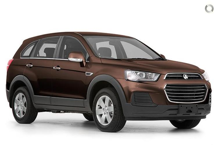 2017 Holden Captiva CG LS MY17 2WD