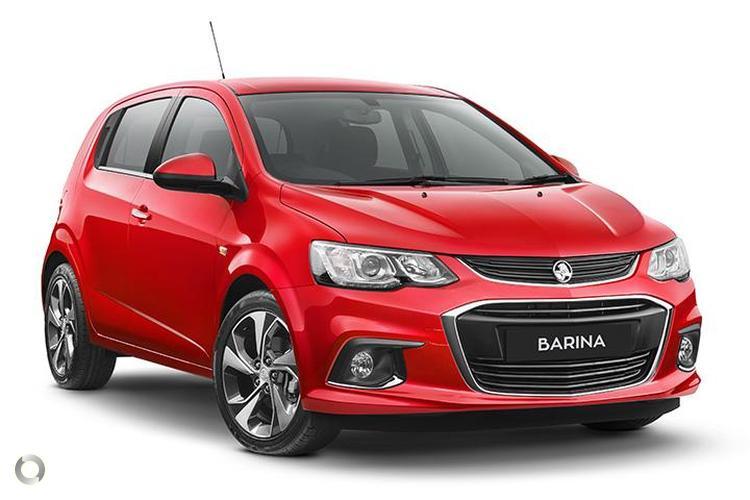 2017 Holden Barina TM LT MY17