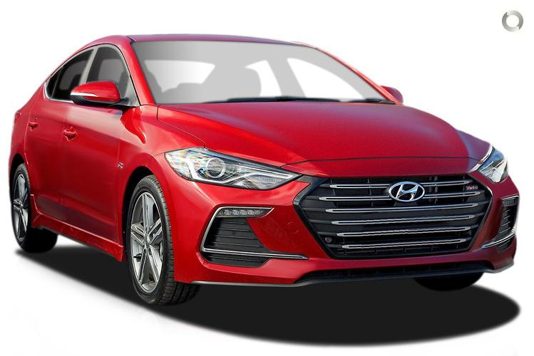 2016 Hyundai Elantra AD SR Turbo MY17 Dual Clutch Transmission