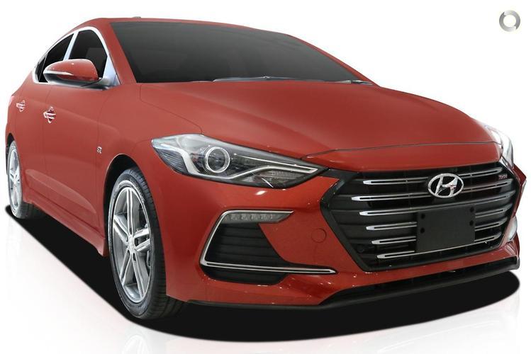 2017 Hyundai Elantra AD SR Turbo MY17 Dual Clutch Transmission