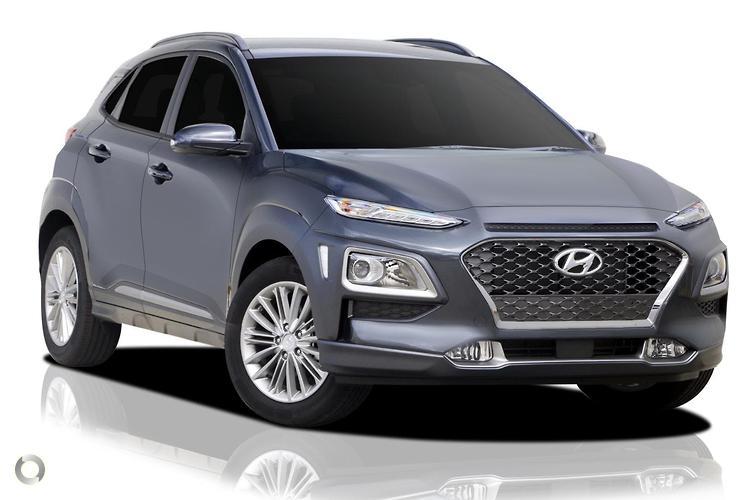 2017 Hyundai Kona OS Elite MY18 Sports Automatic 2WD