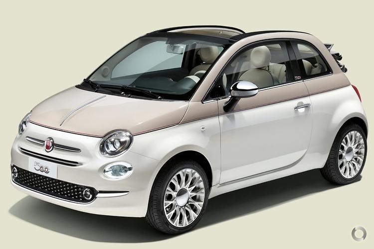 2017 Fiat 500C 60th Anniversary Auto
