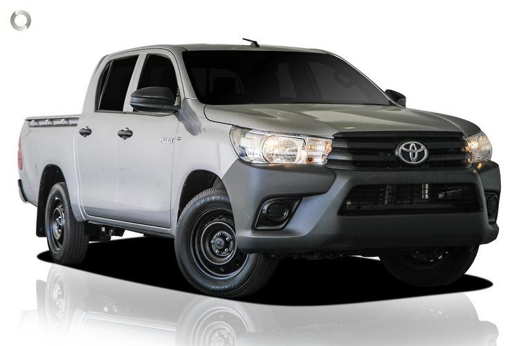 2016 Toyota Hilux TGN121R Workmate 4x2 (Jul. 2015)