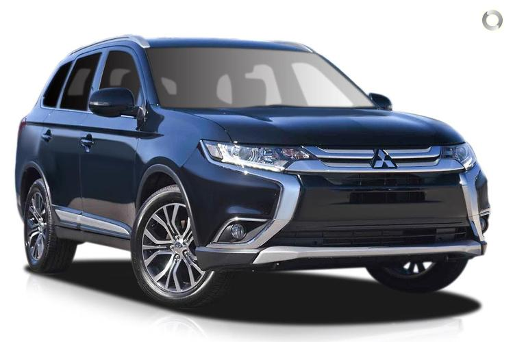 2017 Mitsubishi Outlander ZL LS MY18.5 Constantly Variable Transmission 2WD