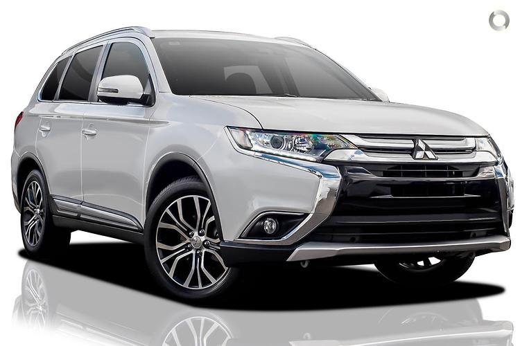 2018 Mitsubishi Outlander ZL ES MY18.5 Constantly Variable Transmission 2WD