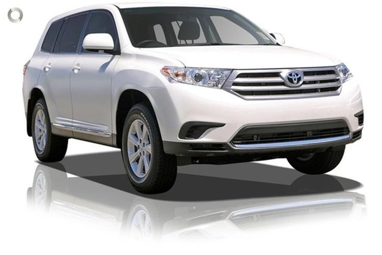 2013 Toyota Kluger GSU45R KX-S Sports Automatic All Wheel Drive (Jan. 2012)