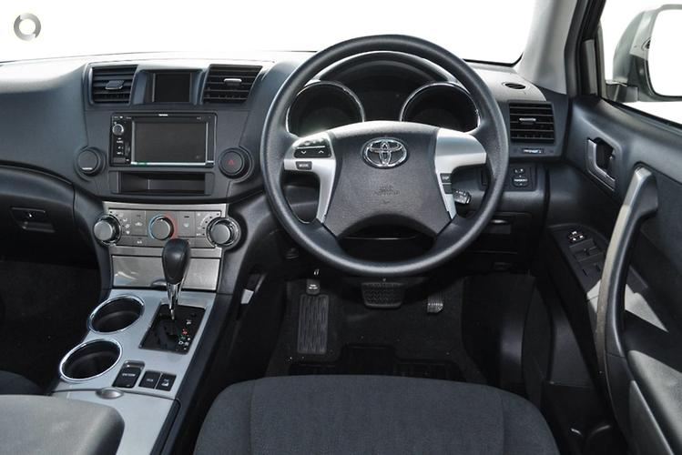2012 Toyota Kluger Altitude Auto 2WD MY12