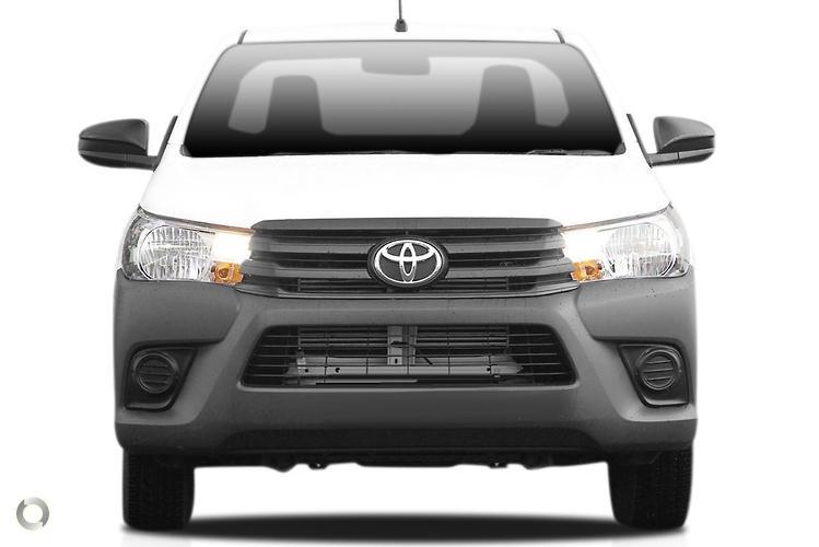 2017 Toyota Hilux GUN122R Workmate (Jul. 2015)