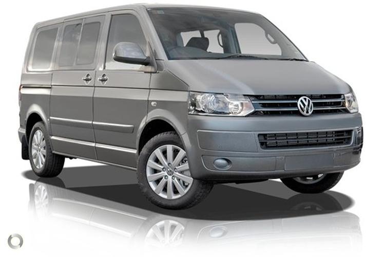 2010 Volkswagen Multivan T5 Comfortline MY11 Direct-Shift Gearbox
