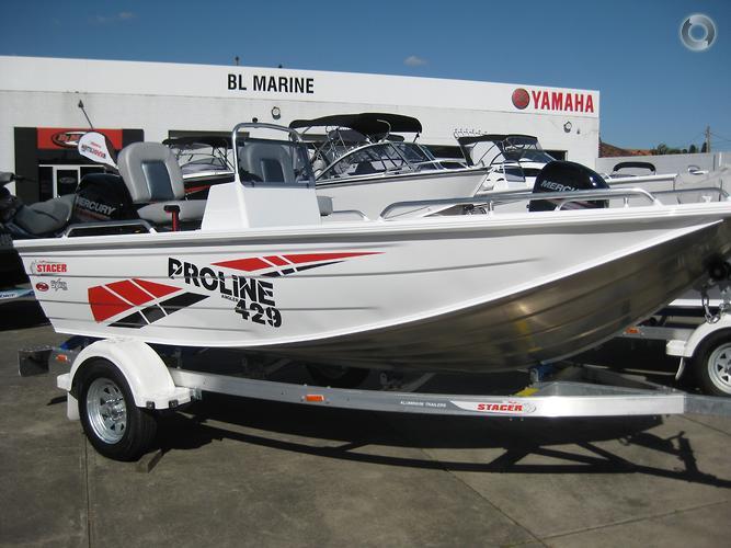 2022 Stacer 429 Proline Angler