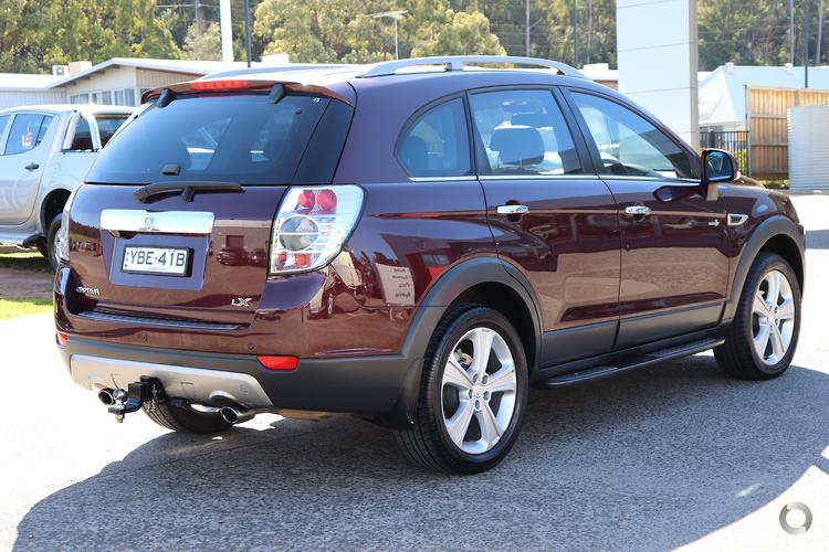 2013 Holden Captiva 7 LX CG Series II Auto AWD MY12