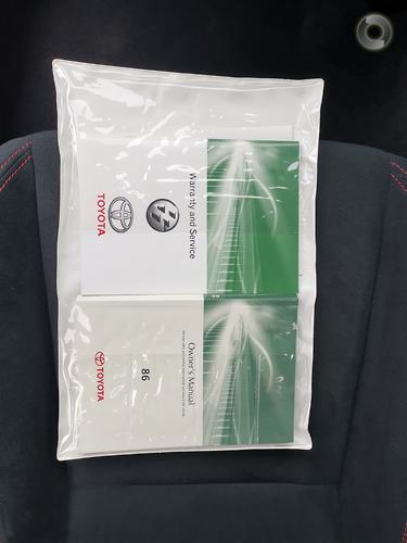 2012 Toyota 86 GT Manual