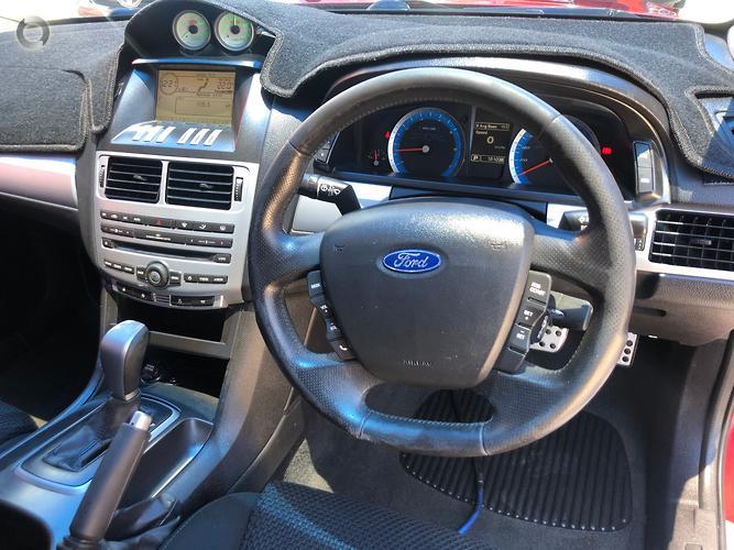 2009 Ford Falcon Ute XR6 FG Auto Super Cab