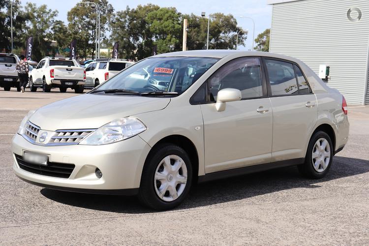 2010 Nissan Tiida ST C11 S3 Manual